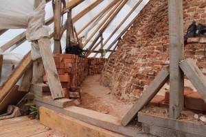 Реставрация свода и карниза церкви Рождества Богородицы в Пречистом бору