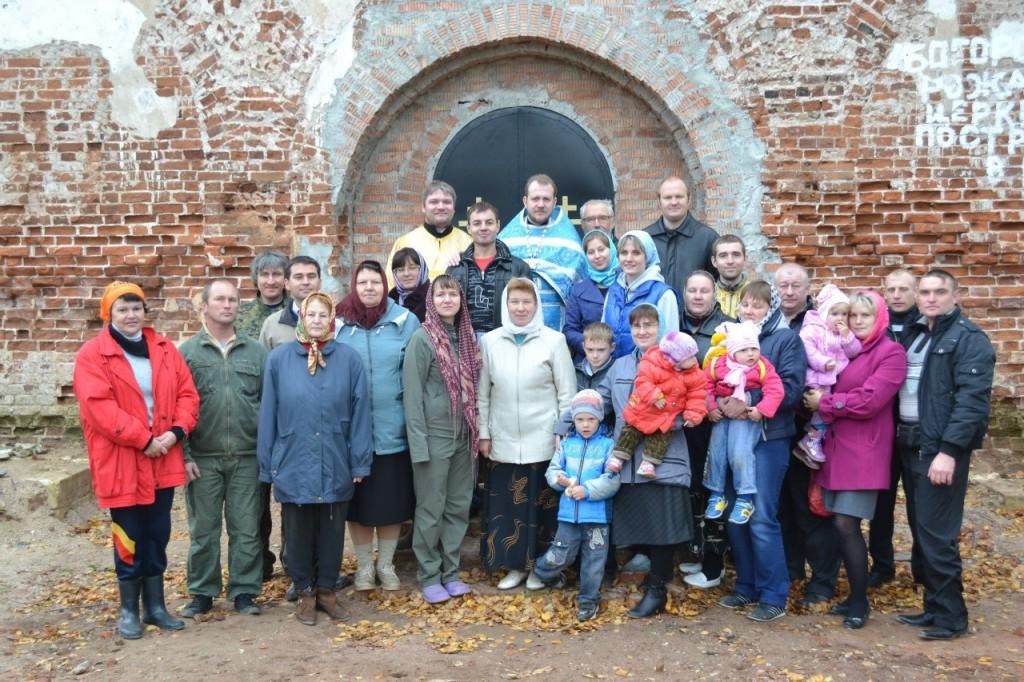 Община храма Рождества Богородицы в Пречистом бору