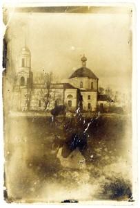 Храм Рождества Богородицы в деревне Красный бор (Пречистый бор). Предположительно 1930-е гг.