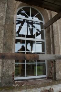 Окна в храме в Пречистом бору.